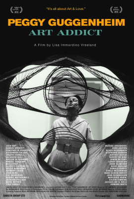 peggy art addict poster