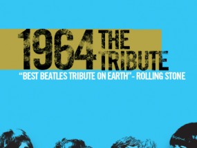 1964 the tribute poster, features four men dressed as the members of The Beatles.