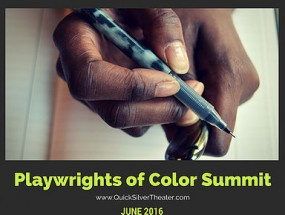 playwrights of color logo