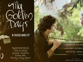 my golden days poster