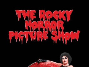 Poster for Rocky Horror Picture Show.