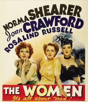 "Original movie poster for the 1939 comedy-drama ""The Women."""