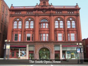 Picture of the Smith Opera House exterior.