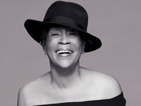Picture shows singer Bettye LaVette in black hat.