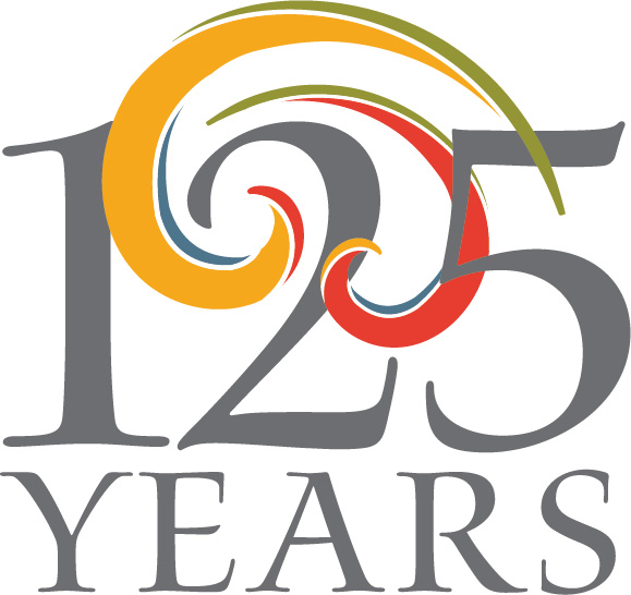 Logo promoting the Smith's 125th anniversary