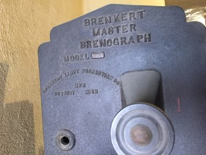 Photograph of Smith Opera House's Master Brenograph: Model F7.