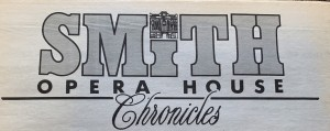 The masthead for Smith Opera House Chronicles, a publication created by students in Rebecca K. Addona's Project Promise class in 1994.