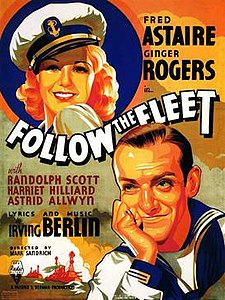 Follow the Fleet movie poster