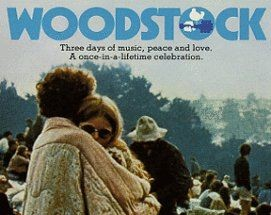 Woodstock 1970 movie poster