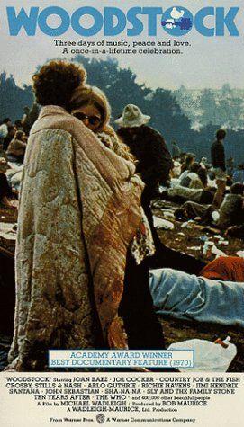 Woodstock 1970 movie poster