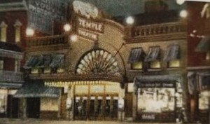 The Temple Theatre, courtesy of the Geneva Historical Society (Fowler 64-65).