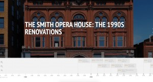 Screenshot of Timeline of 1990s Renovations