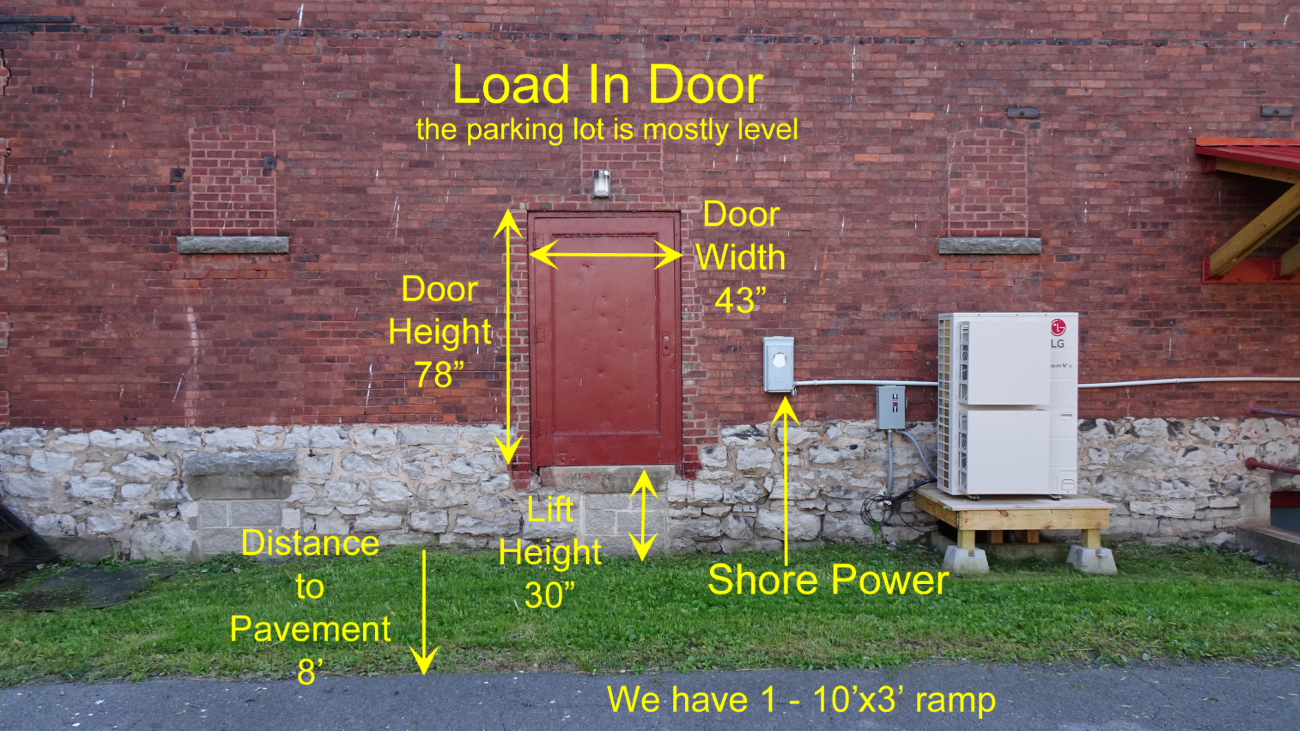 Load In Door Detailed