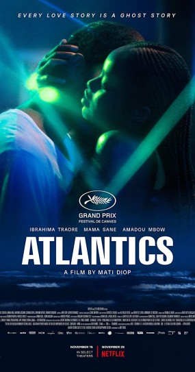 Film poster for Atlantics