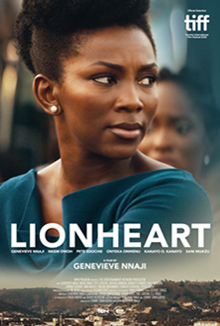 Genevieve Nnaji on the poster for Lionheart