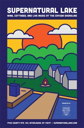 Supernatural Lake poster