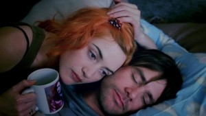 Kate Winslet and Jim Carrey star in Eternal Sunshine of the Spotless Mind