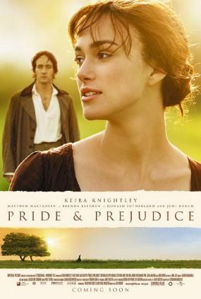 Pride + Prejudice movie poster