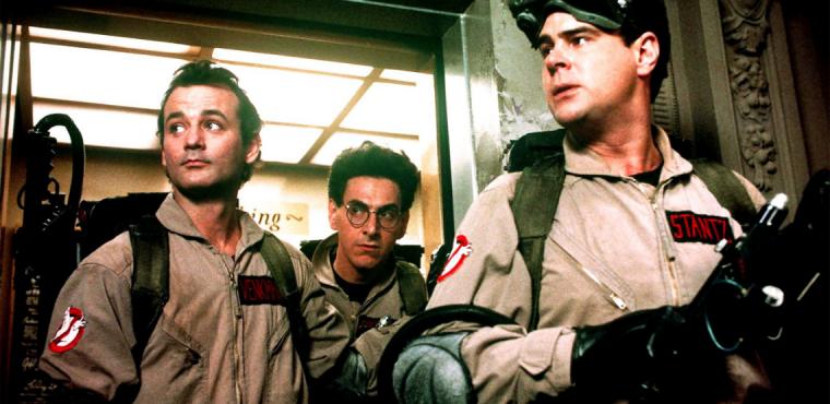 Harold Ramis, Dan Aykroyd, Bill Murray star in Ghostbusters