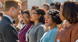 Hidden Figures featuring Janelle Monae, Taraji P Henson, Octavia Spencer in early 60's women's clothing