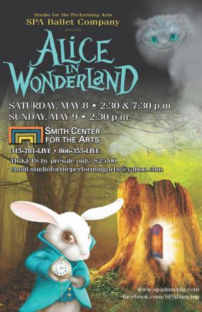 Alice in Wonderland The Ballet Poster