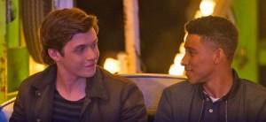 Nick Robinson and Keiynan Lonsdale star in Love, Simon