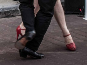 Tango Red Shoes